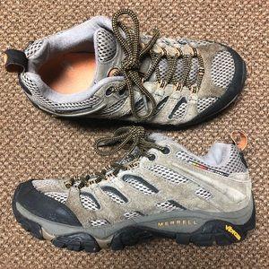 Merrell Moab Ventilator Hiking Running Shoes Sz 7